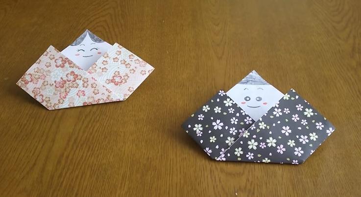 お雛様 作り方 簡単 折り紙 Collection 折り紙