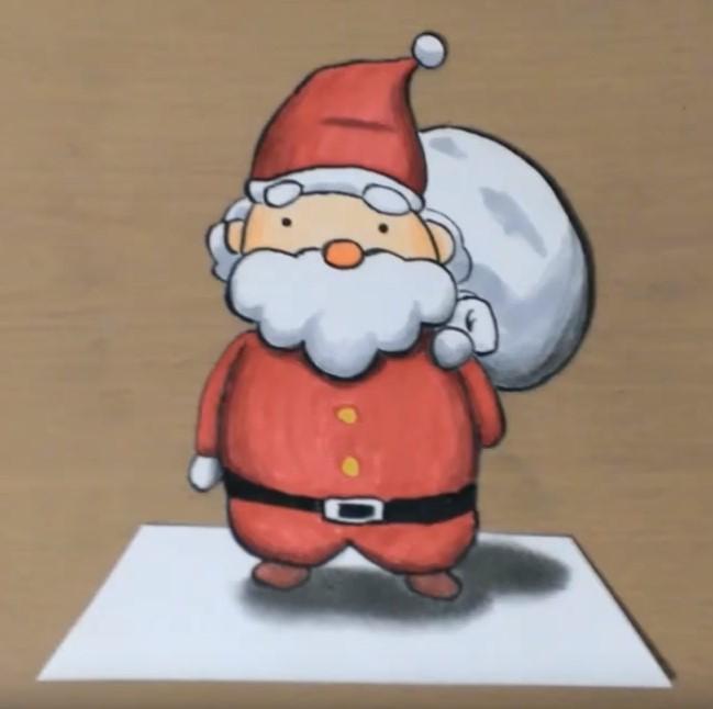 サンタクロースイラストで簡単かわいいはコレ実際に書いてみたオススメ4選